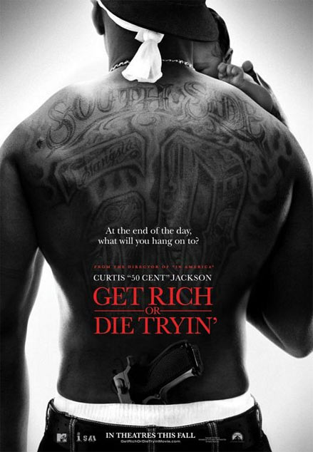 Get Rich or Die Tryin' Poster #1