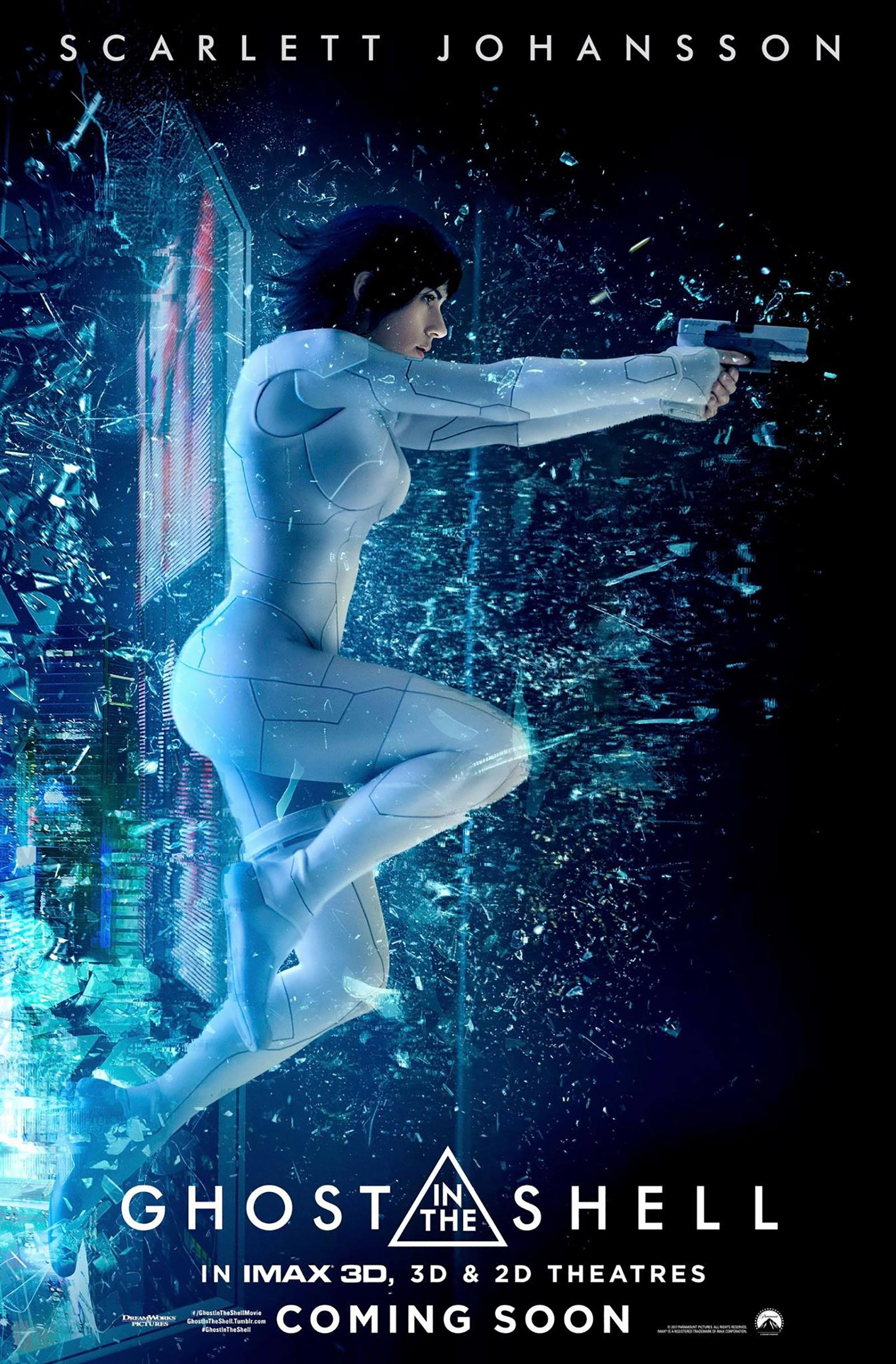 Ghost in the Shell Poster #4