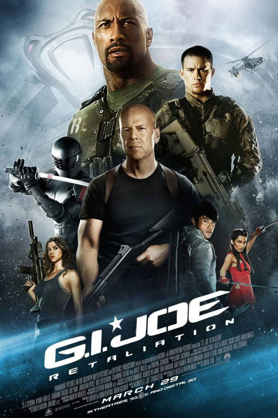 G.I. Joe 2: Retaliation Poster #25