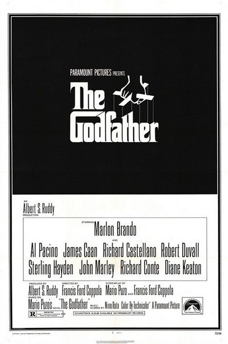 The Godfather Poster #1