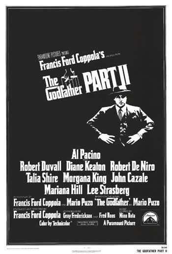 The Godfather Part II Poster #1