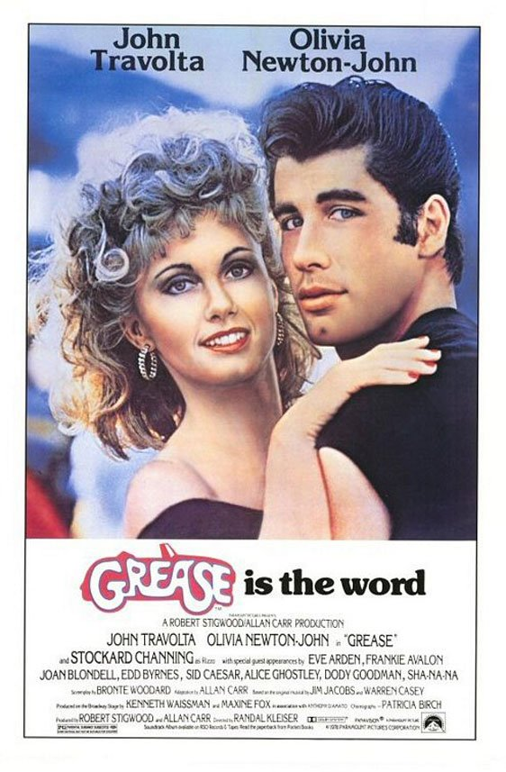 Grease Poster #1