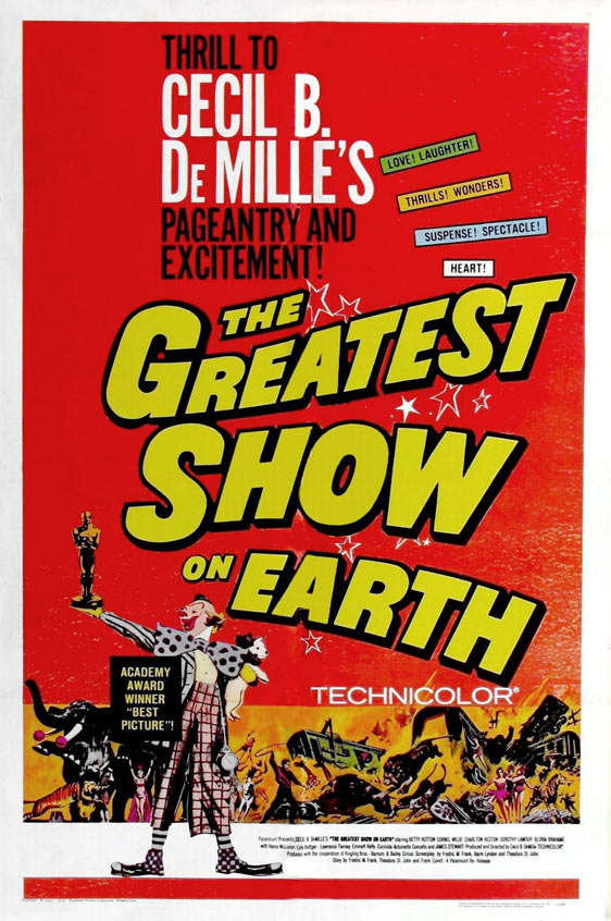 The Greatest Show on Earth Poster #2
