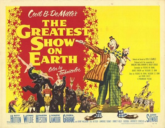 The Greatest Show on Earth Poster #3