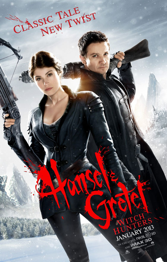 Hansel & Gretel: Witch Hunters Poster #2