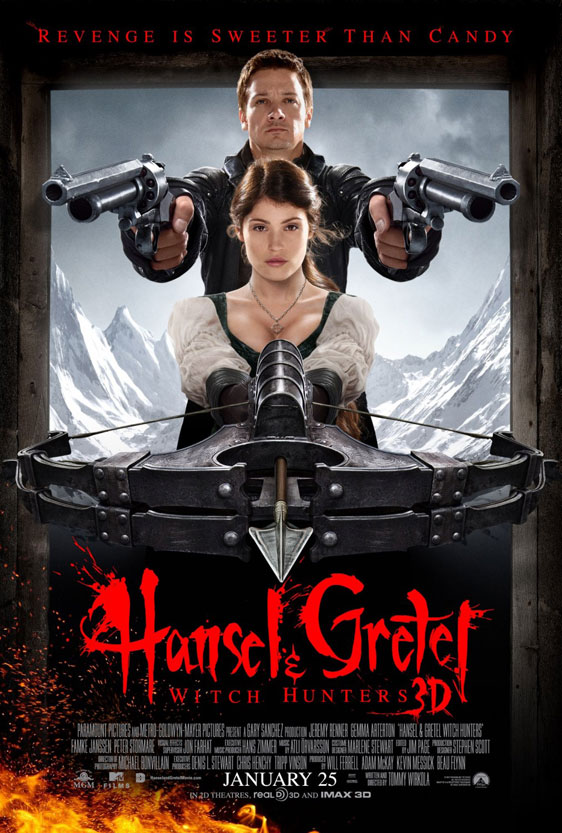 Hansel & Gretel: Witch Hunters Poster #6