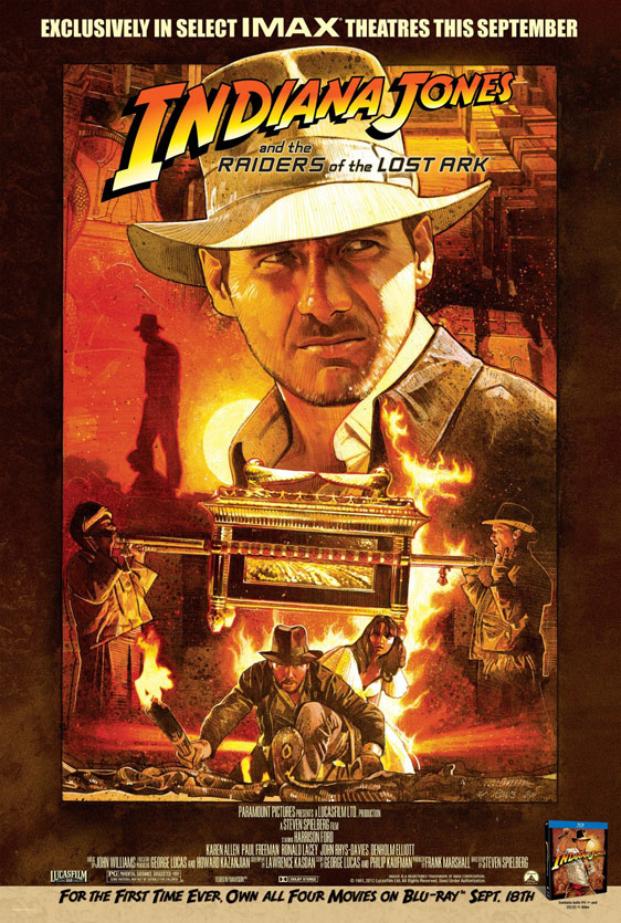 Indiana Jones and the Raiders of the Lost Ark Poster #6