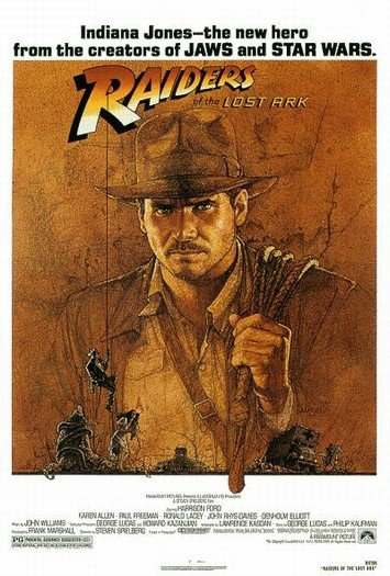 Indiana Jones and the Raiders of the Lost Ark Poster #1