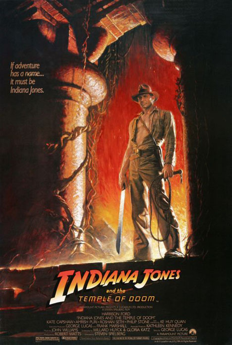 Indiana Jones and the Temple of Doom Poster #1
