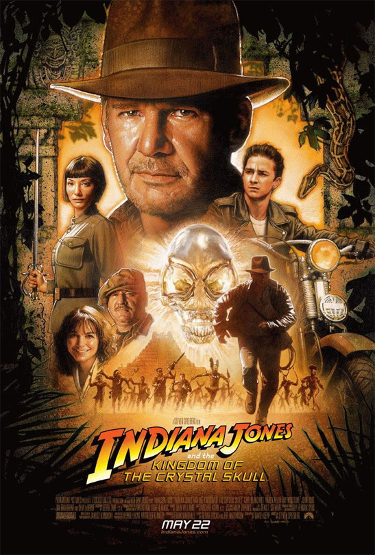 Indiana Jones and the Kingdom of the Crystal Skull Poster #2