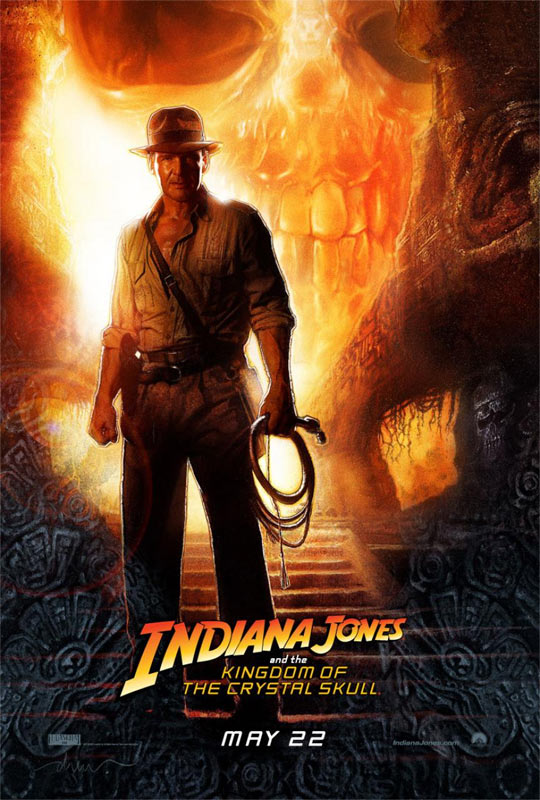 Indiana Jones and the Kingdom of the Crystal Skull Poster #1