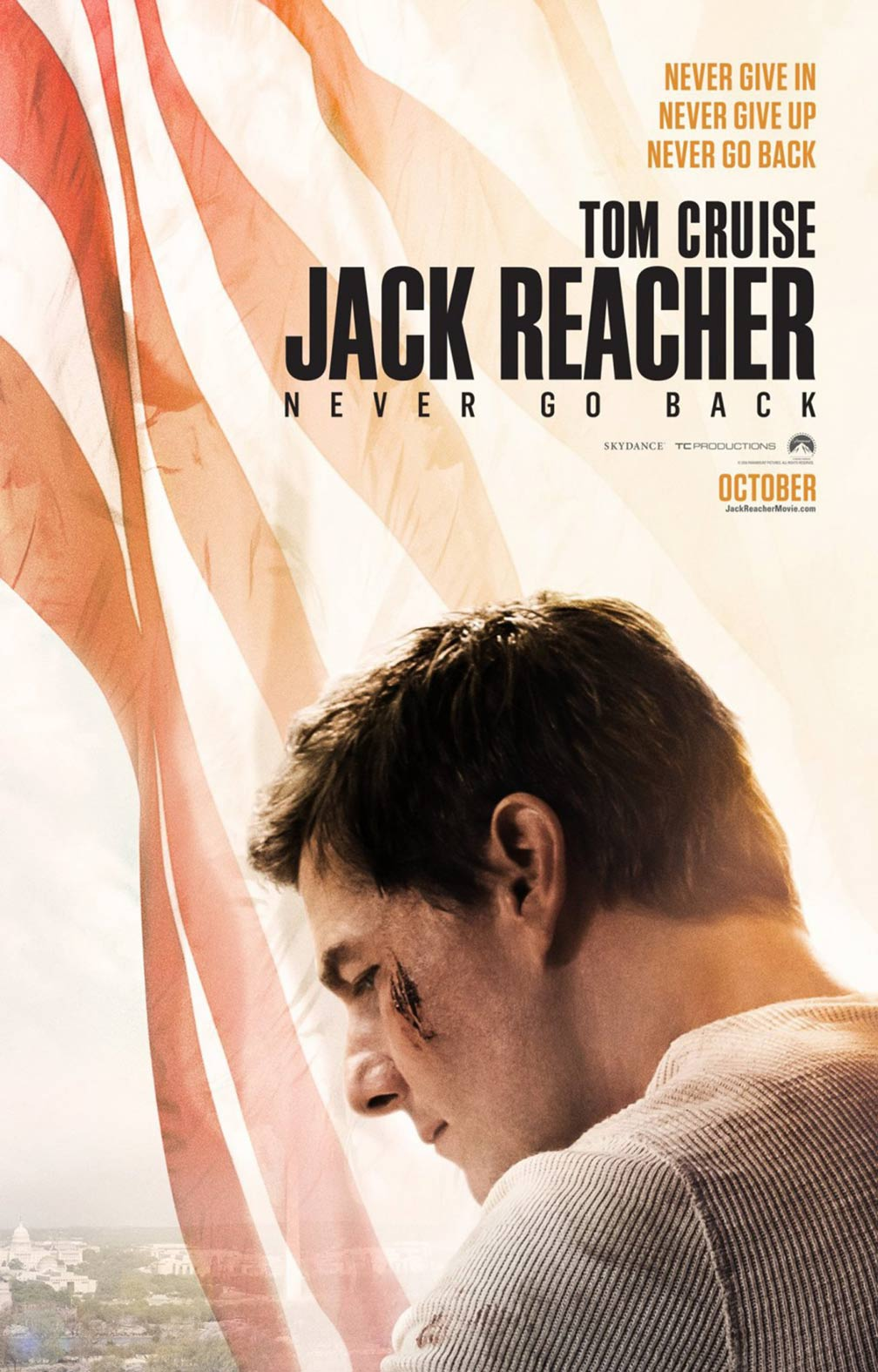Jack Reacher: Never Go Back Poster #2