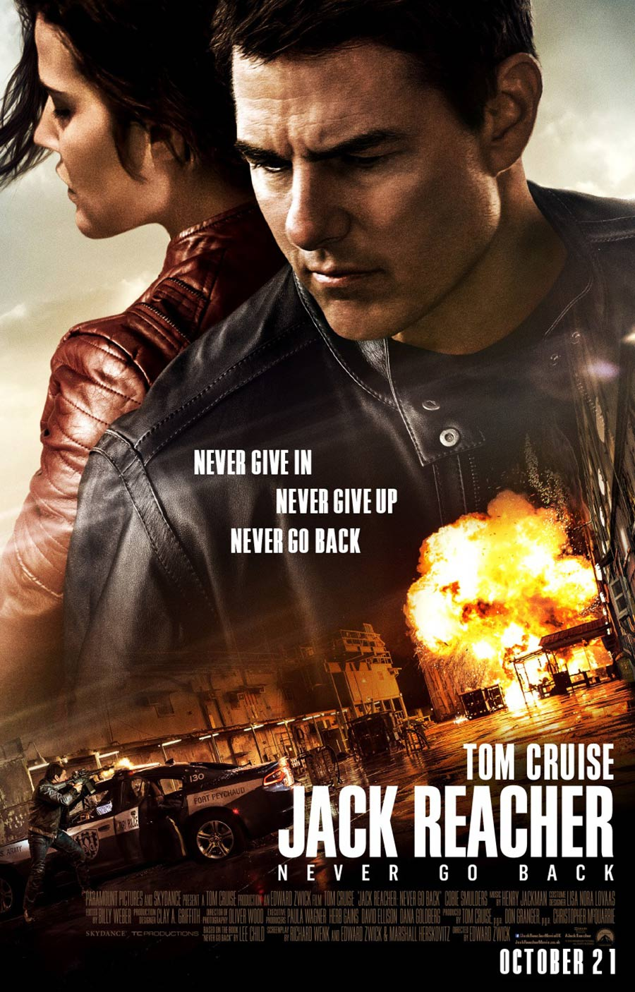 Jack Reacher: Never Go Back Poster #3