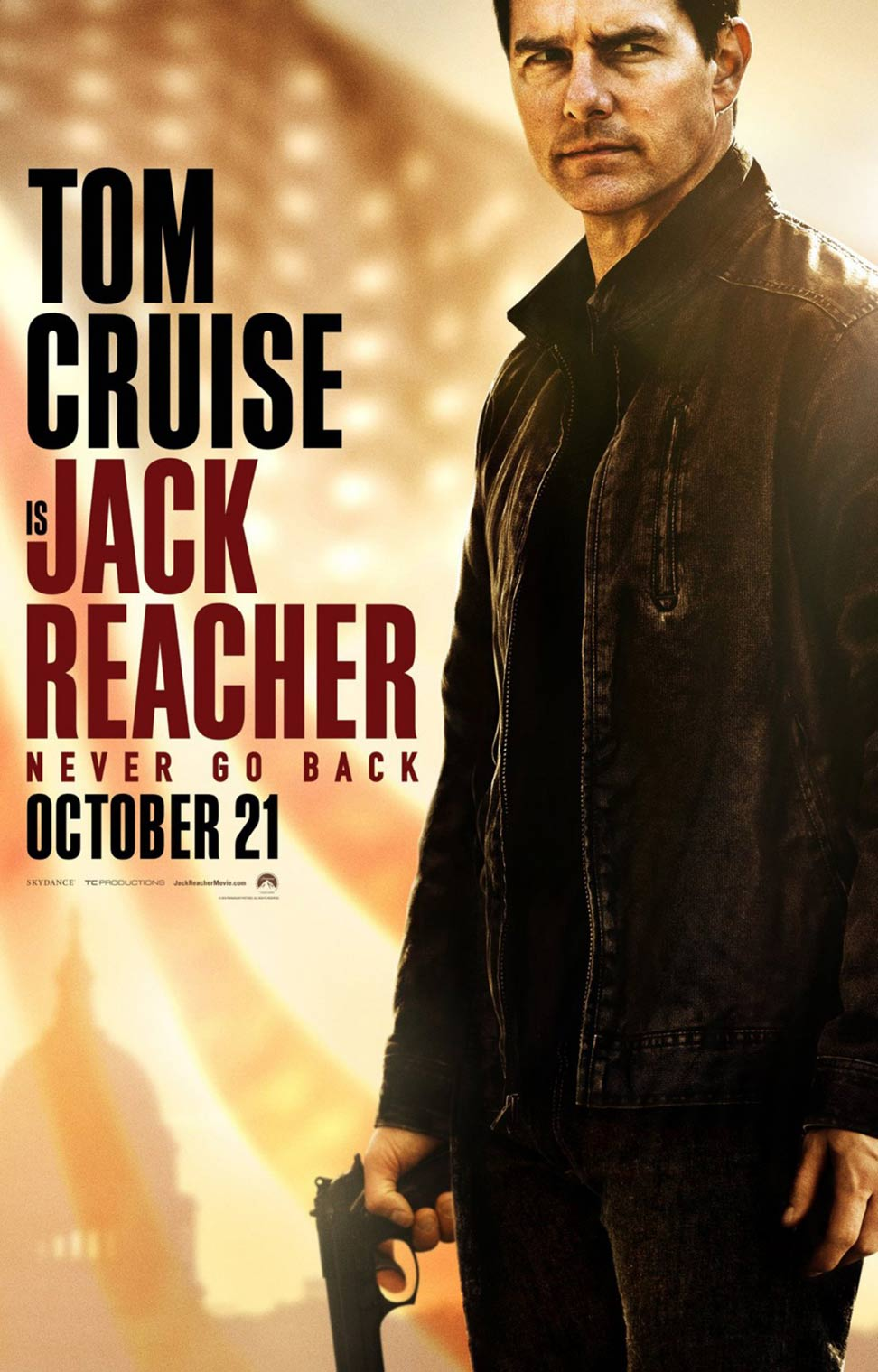 Jack Reacher: Never Go Back Poster #4