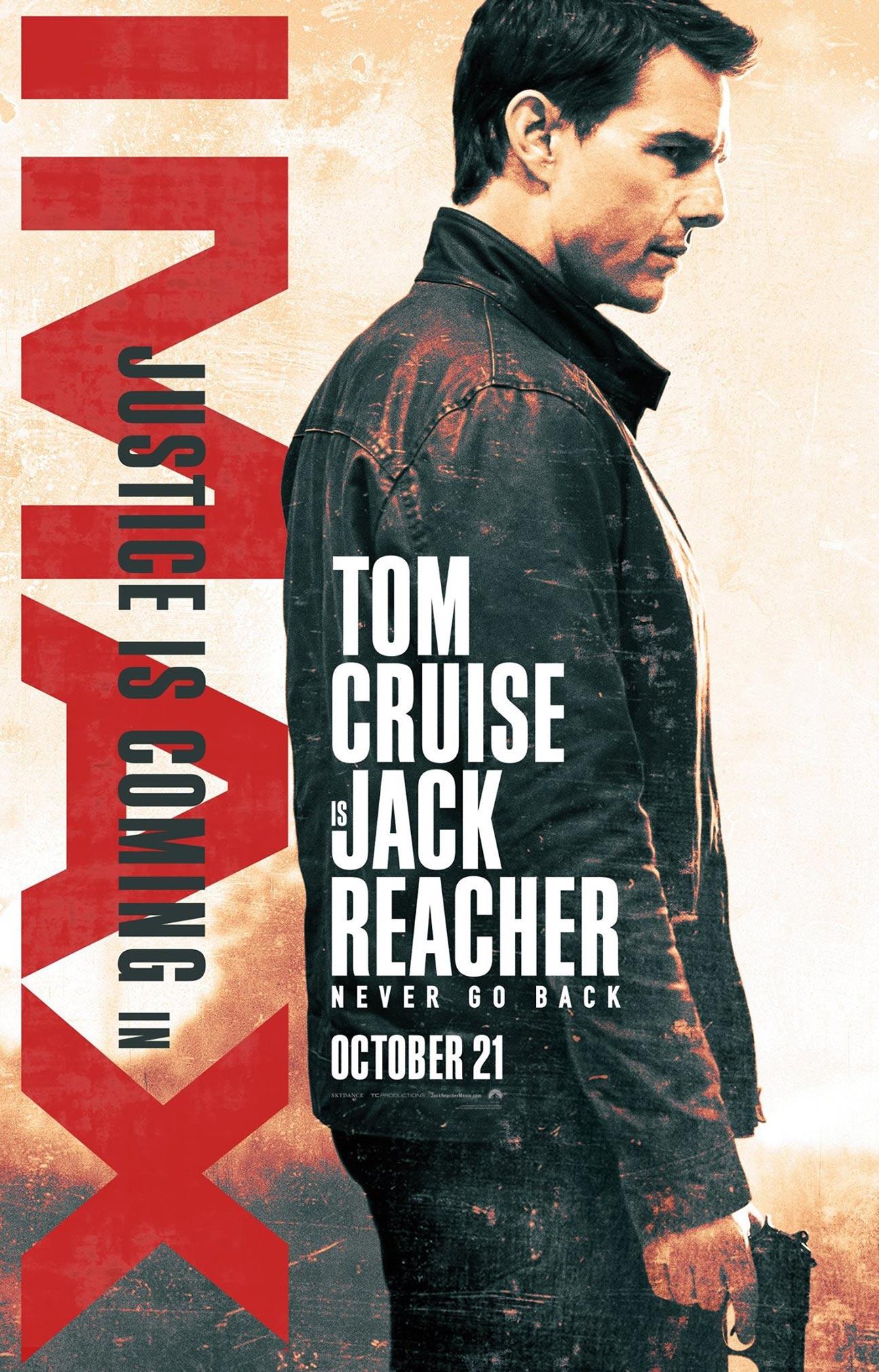Jack Reacher: Never Go Back Poster #5