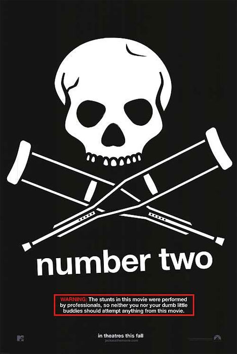 Jackass Number Two Poster #1