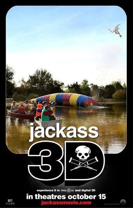 Jackass 3D Poster #4