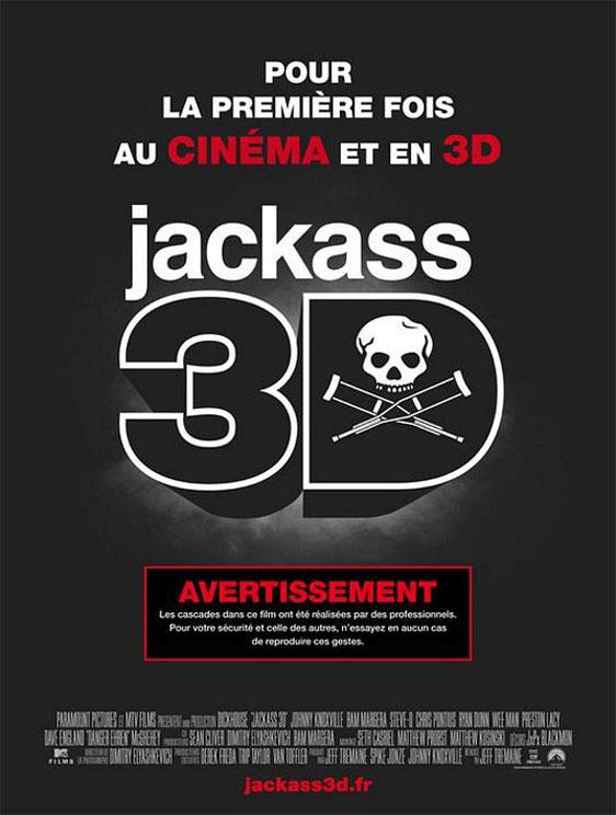 Jackass 3D Poster #5