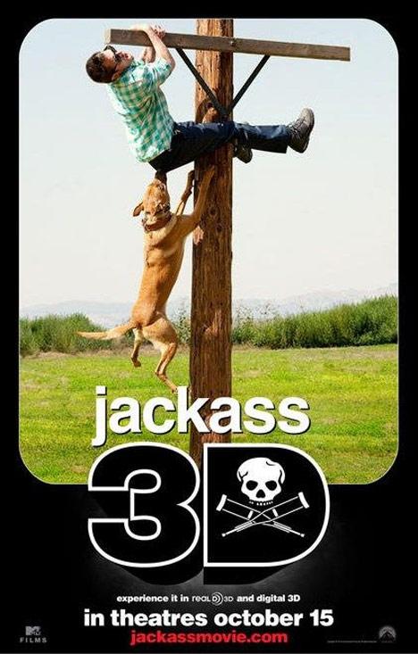 Jackass 3D Poster #1