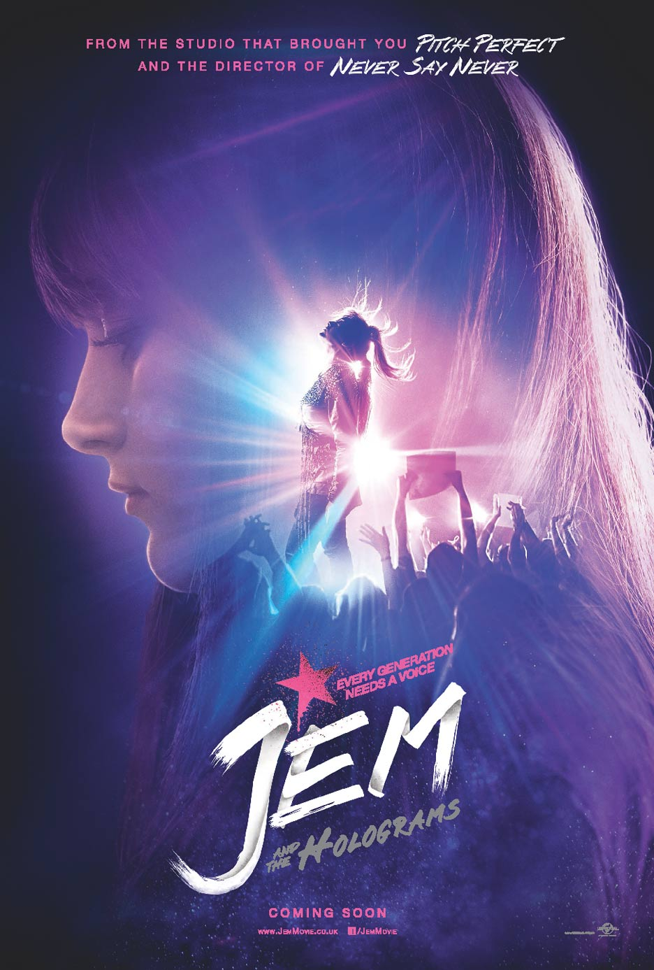 Jem and the Holograms Poster #1