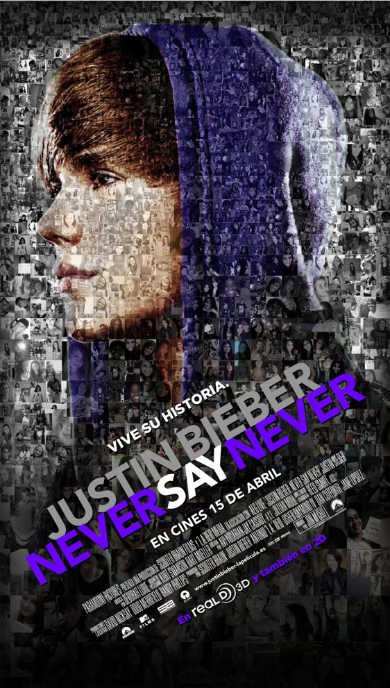 Justin Bieber: Never Say Never Poster #2