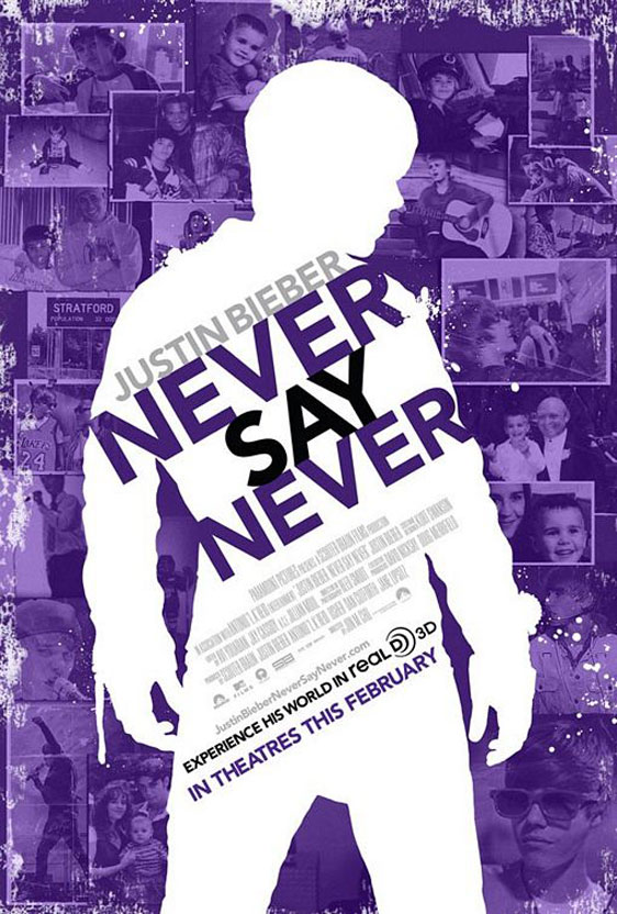 Justin Bieber: Never Say Never Poster #4