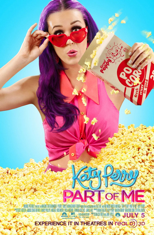 Katy Perry: Part of Me Poster #2