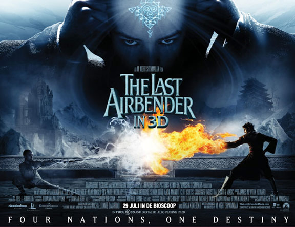 The Last Airbender (2010) Poster #1 - Trailer Addict