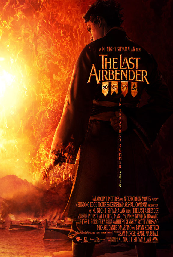 The Last Airbender Poster #2