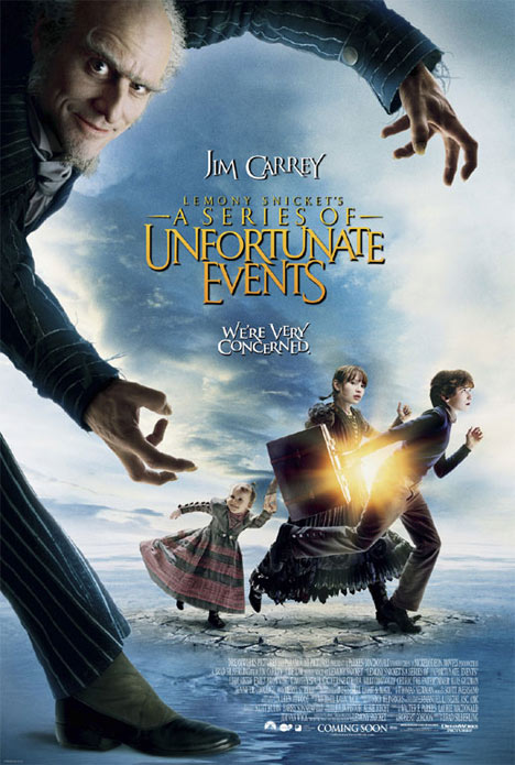 Lemony Snicket's A Series of Unfortunate Events Poster #1