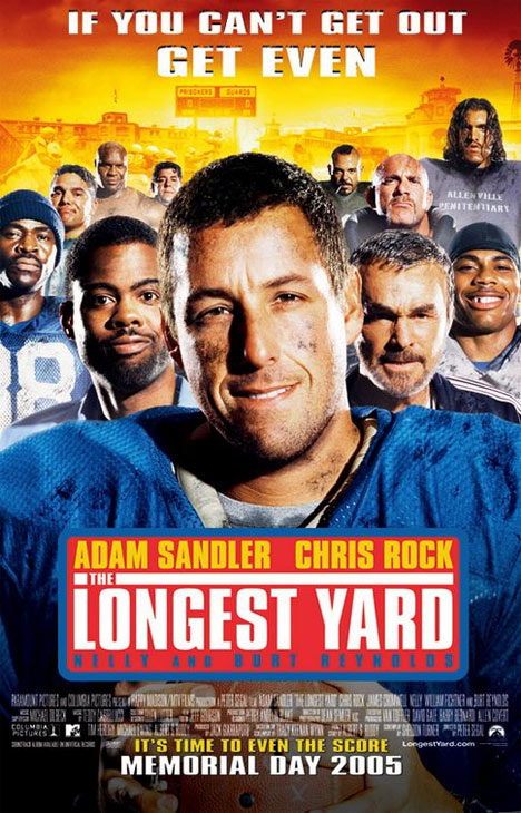 The Longest Yard Poster #1