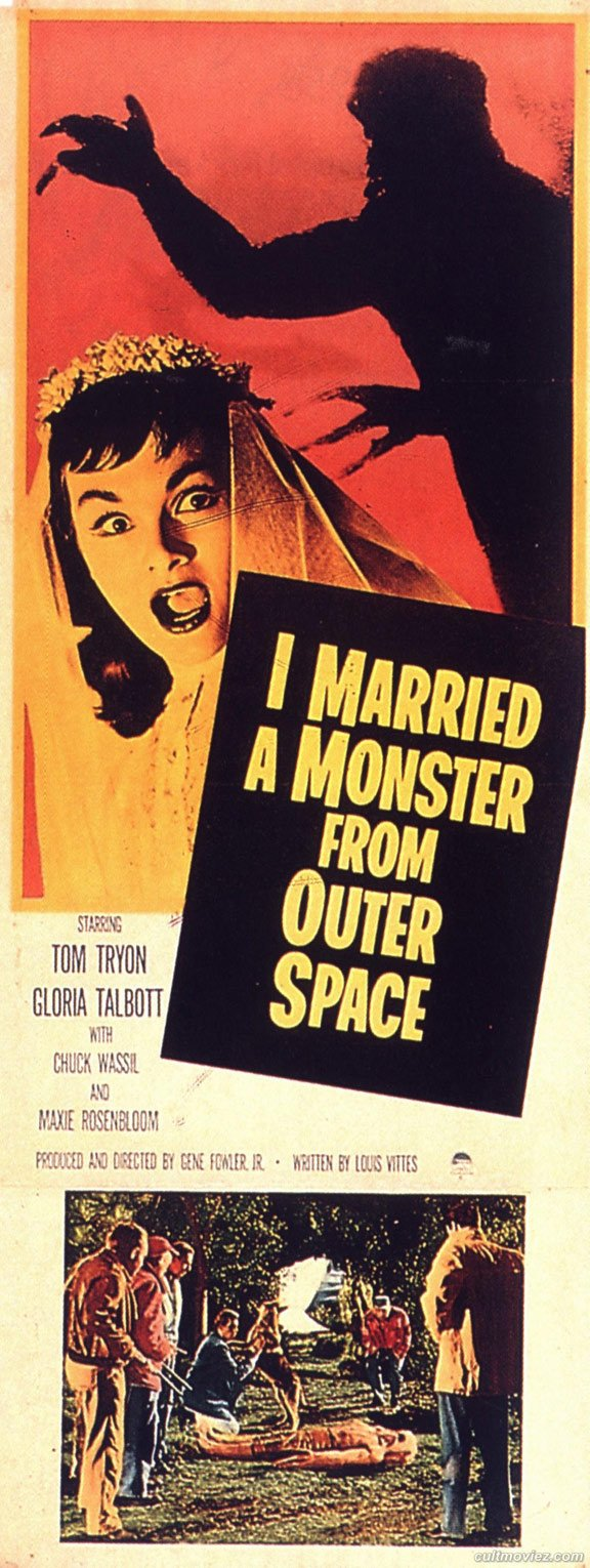 I Married a Monster from Outer Space Poster #4