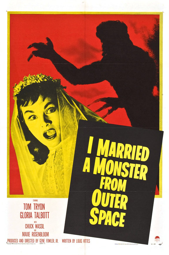 I Married a Monster from Outer Space Poster #1