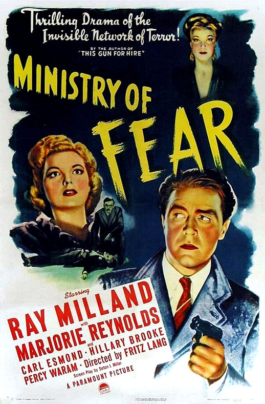 Ministry of Fear Poster #1
