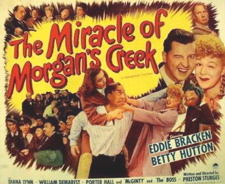 The Miracle of Morgan's Creek Poster #1