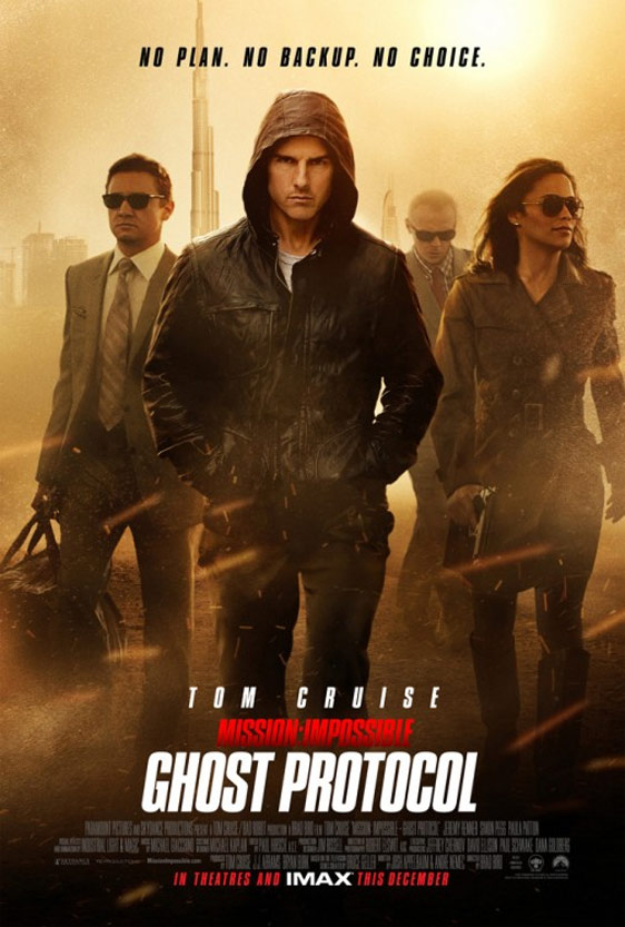 Mission: Impossible - Ghost Protocol Poster #4