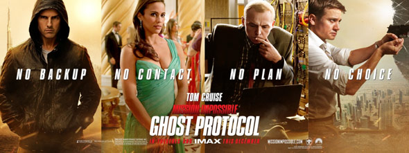 Mission: Impossible - Ghost Protocol Poster #5