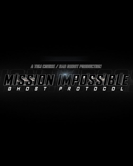 Mission: Impossible - Ghost Protocol Poster #1