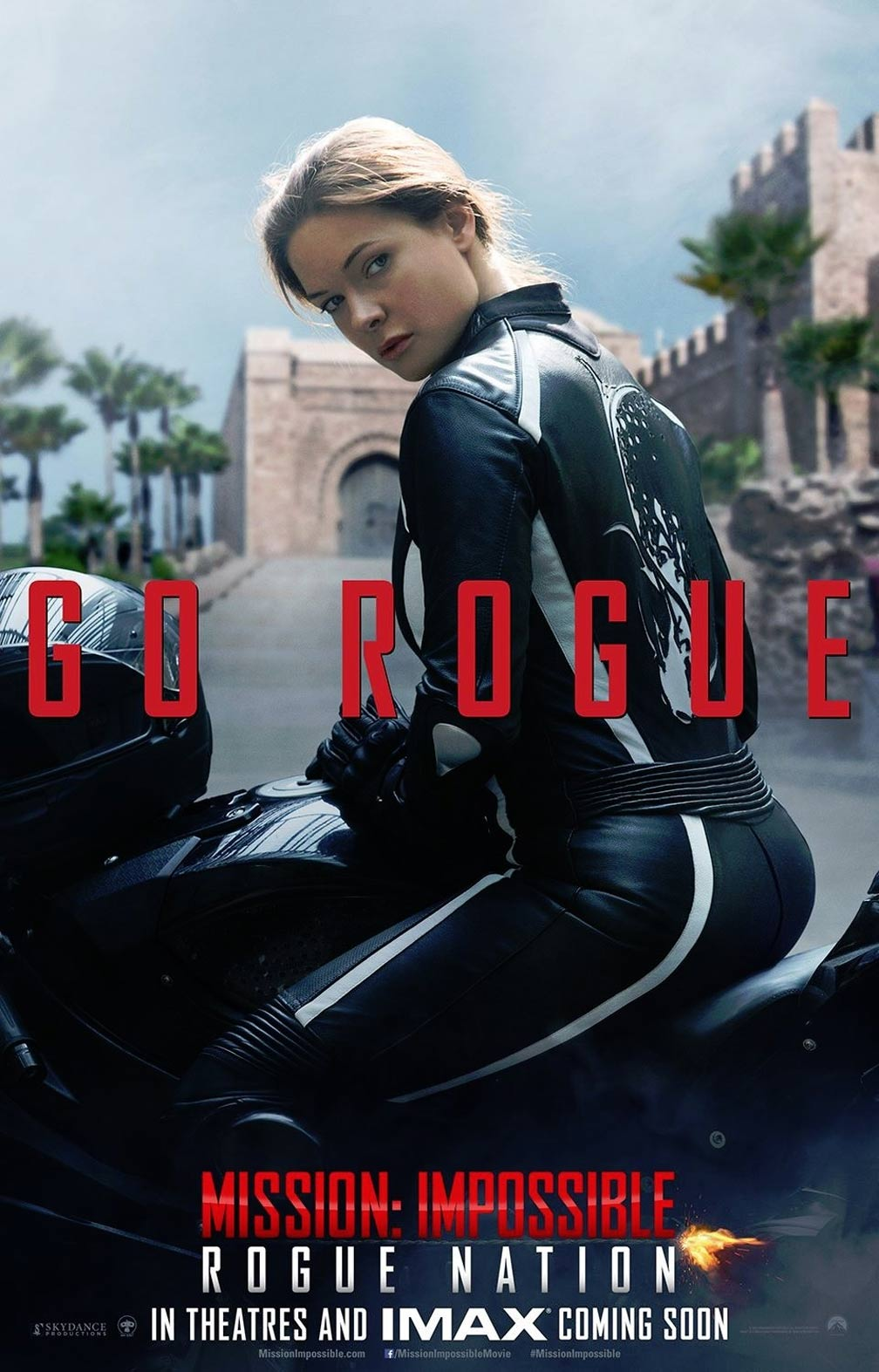 Mission: Impossible Rogue Nation Poster #3