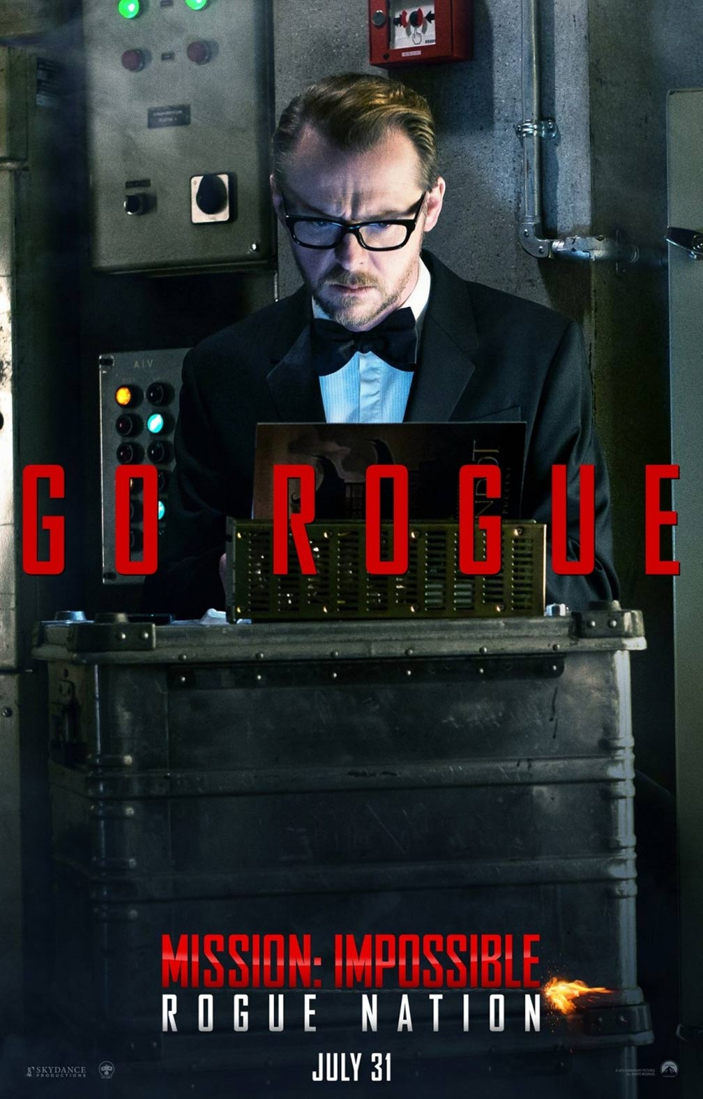 Mission: Impossible Rogue Nation Poster #8