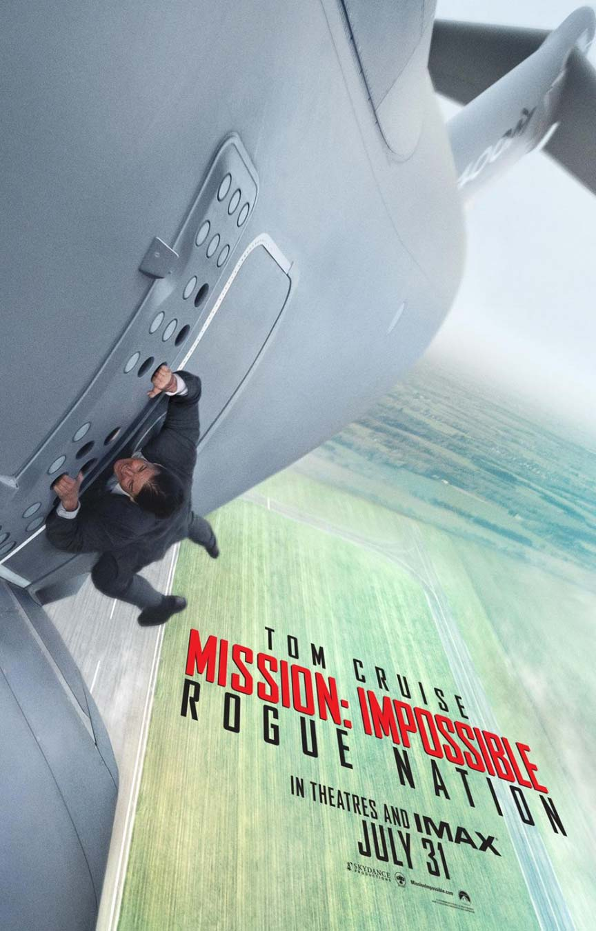 Mission: Impossible Rogue Nation Poster #1