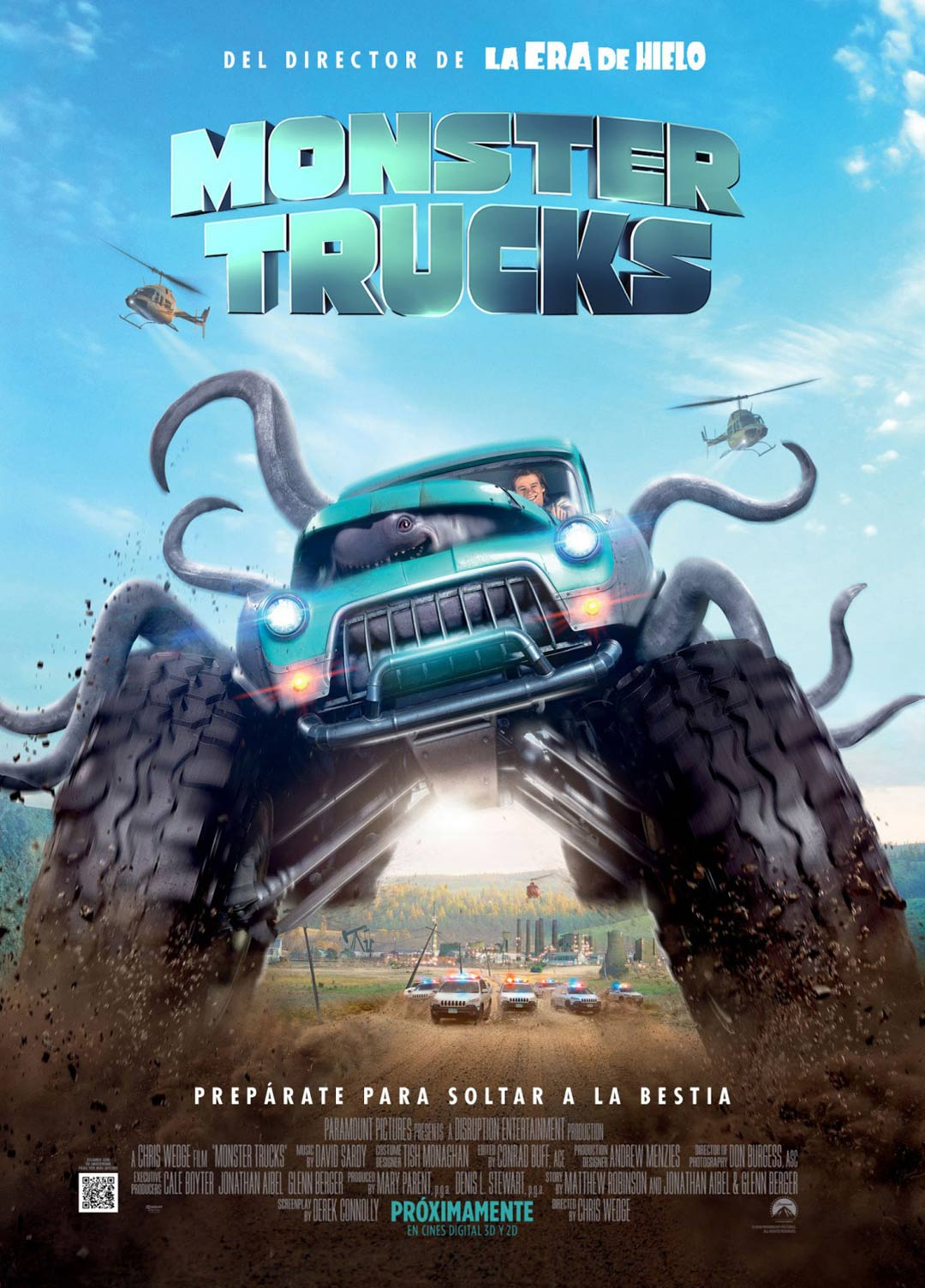Monster Trucks Poster #2