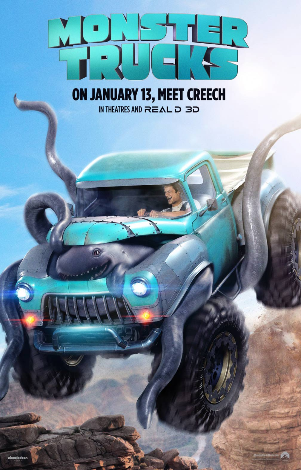 Monster Trucks Poster #3