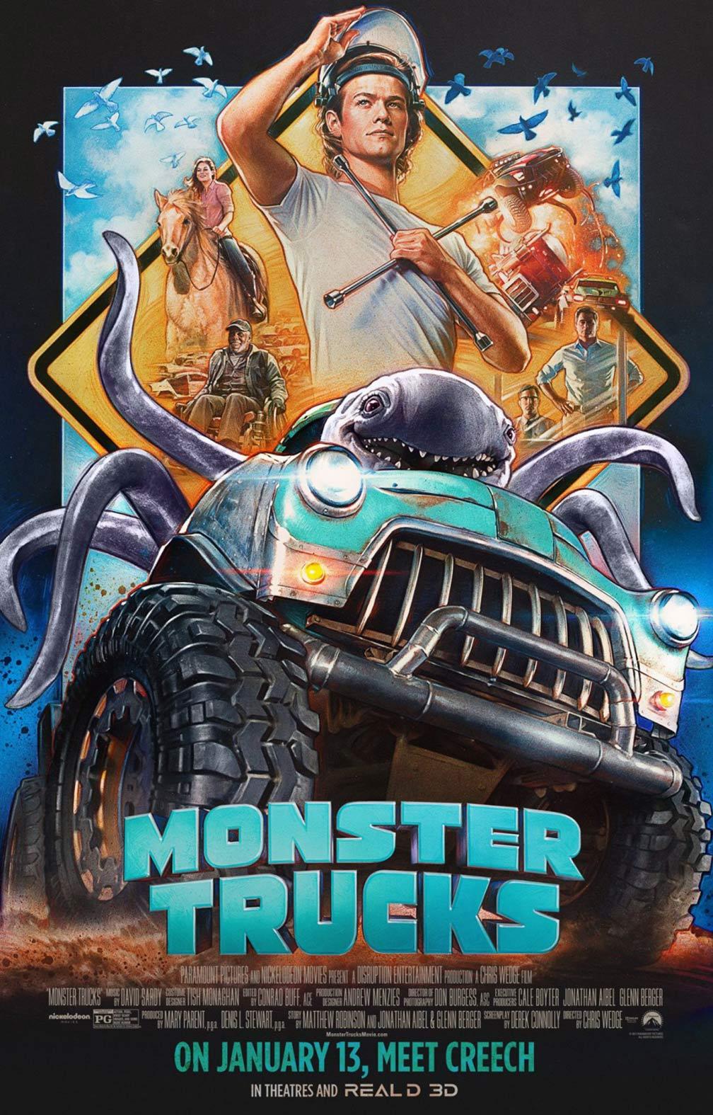 Monster Trucks Poster #5
