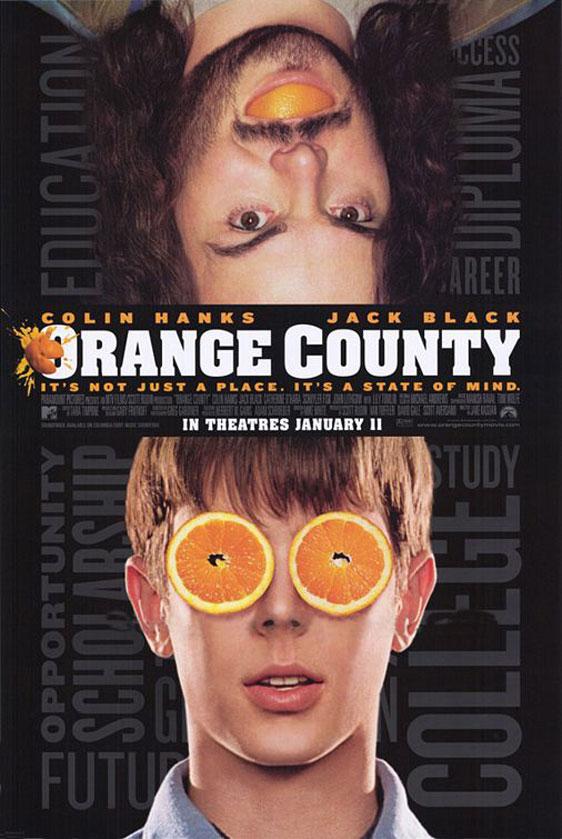 Orange County Poster #1