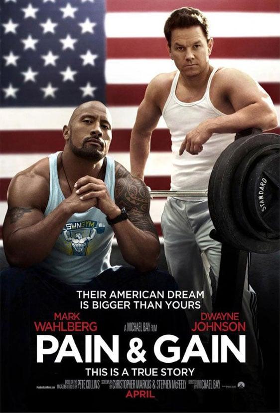 Pain & Gain Poster #1