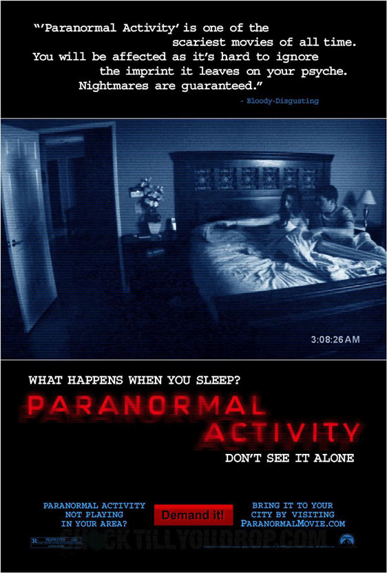 Paranormal Activity Poster #1