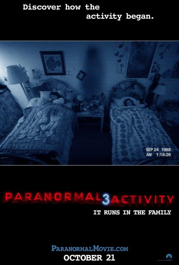 Paranormal Activity 3 Poster #1