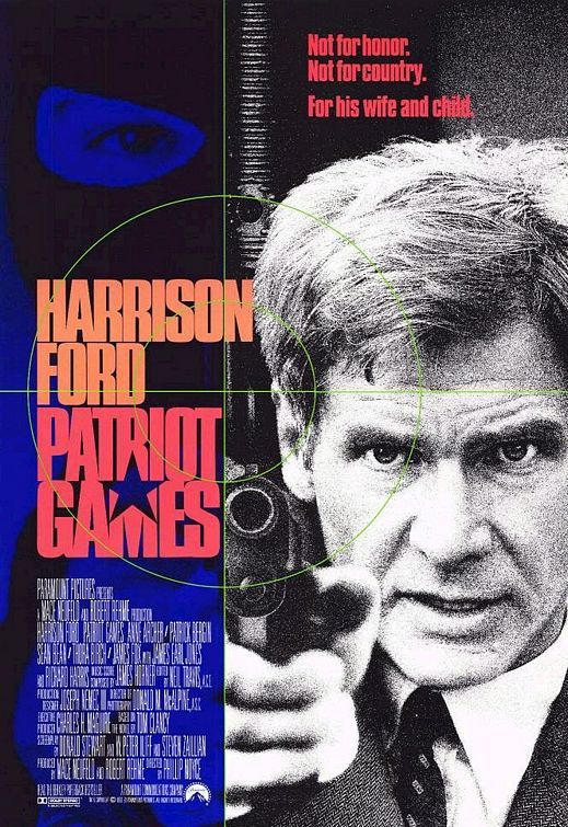 Patriot Games Poster #1