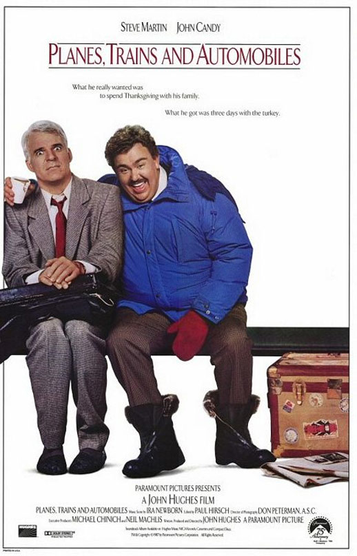 Planes, Trains and Automobiles Poster #1
